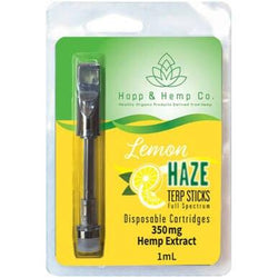 Hopp And Hemp Co. Lemon Haze CBD Cartridge 350mg