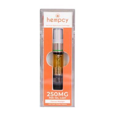 Hempcy Focus Mango CBD Cartridge 250mg