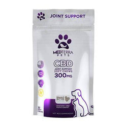 Medterra Peanut Butter Joint Support CBD Chews 300mg