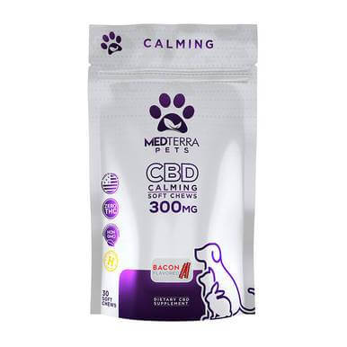 Medterra Bacon Calming Soft CBD Chews 300mg
