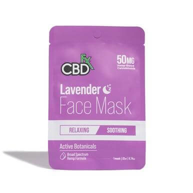 CBDFX Lavender CBD Face Mask 50mg