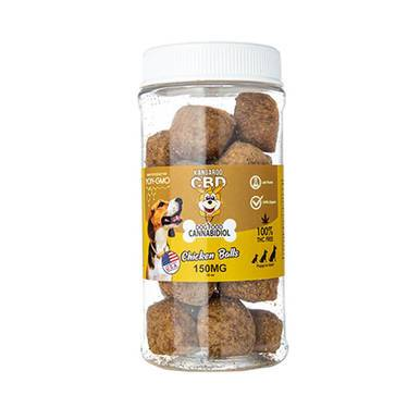 Kangaroo CBD CBD Dog Treats Chicken Balls - 150mg