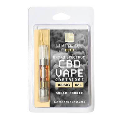 Limitless CBD Sugar Cookie CBD Cartridge 100mg