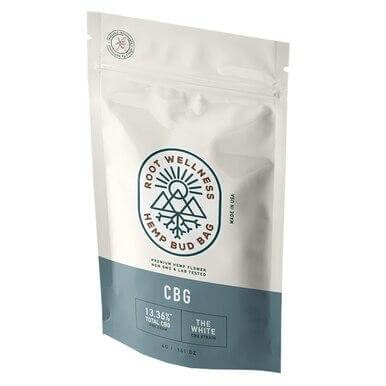 Root Wellness The White CBG Bud Bag
