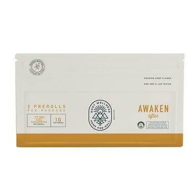 Root Wellness Awaken CBD Pre-Roll 2 Pack
