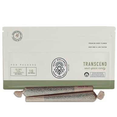 Root Wellness Transcend CBD Pre-Roll 2 Pack