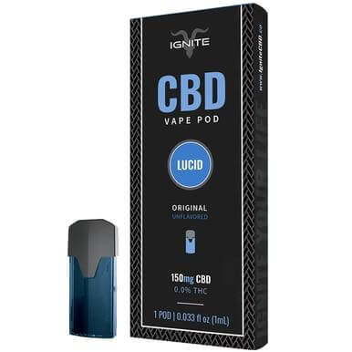 Ignite CBD Original Unflavored CBD Pod 150mg