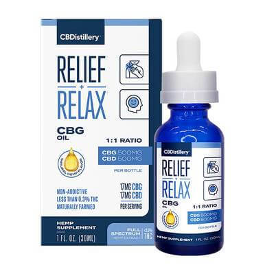 CBG Oil Relief and Relax