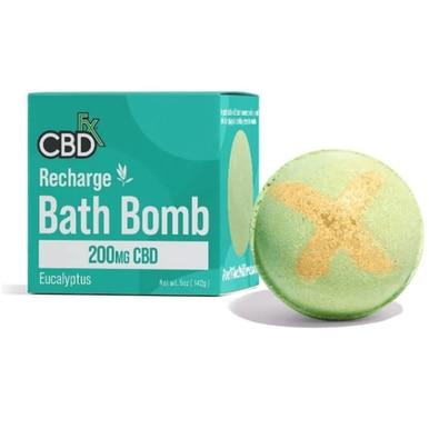CBDFX Recharge CBD Bath Bomb 200mg