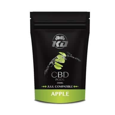 Knockout CBD Apple CBD Juul Pod 2 Pack