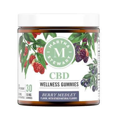 Martha Stewart Berry Medley CBD Gummies 300mg