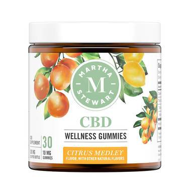 Martha Stewart Citrus Medley CBD Gummies 300mg
