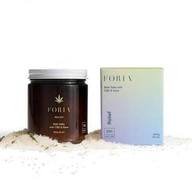 Foria Wellness Menstrual Relief CBD Bath Salt 200mg