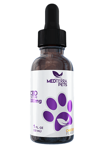 Medterra Chicken CBD Pet Tincture 150mg - 750mg