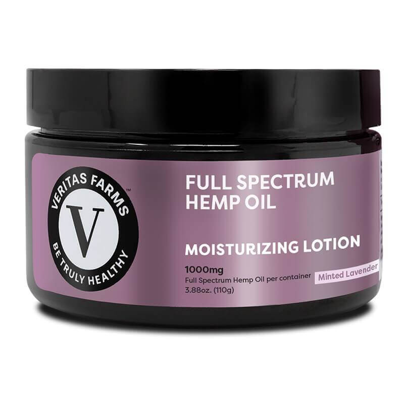 Veritas Farms Minted Lavender CBD Lotion 1000mg