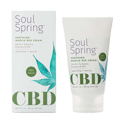 CBD Soothing Muscle Rub Cream By SoulSpring