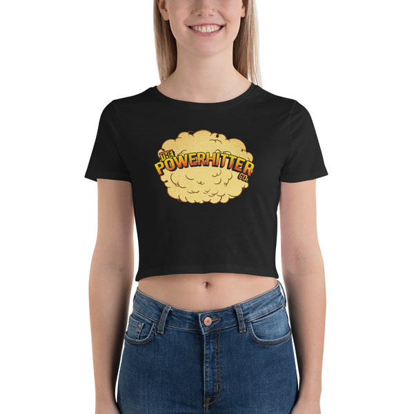 Official PowerHitter™ Women's Crop Tee