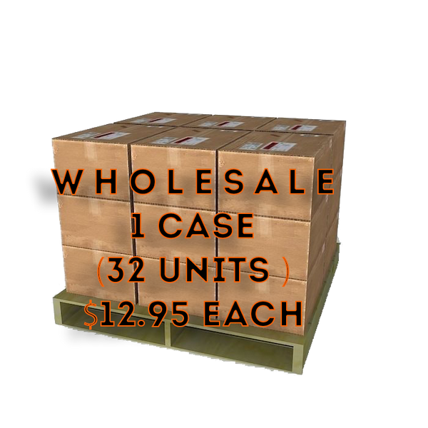 Wholesale 1 Case $12.99 each (32 Units per case)