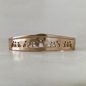 Mimosa Handcrafted-  Last Supper Cuff