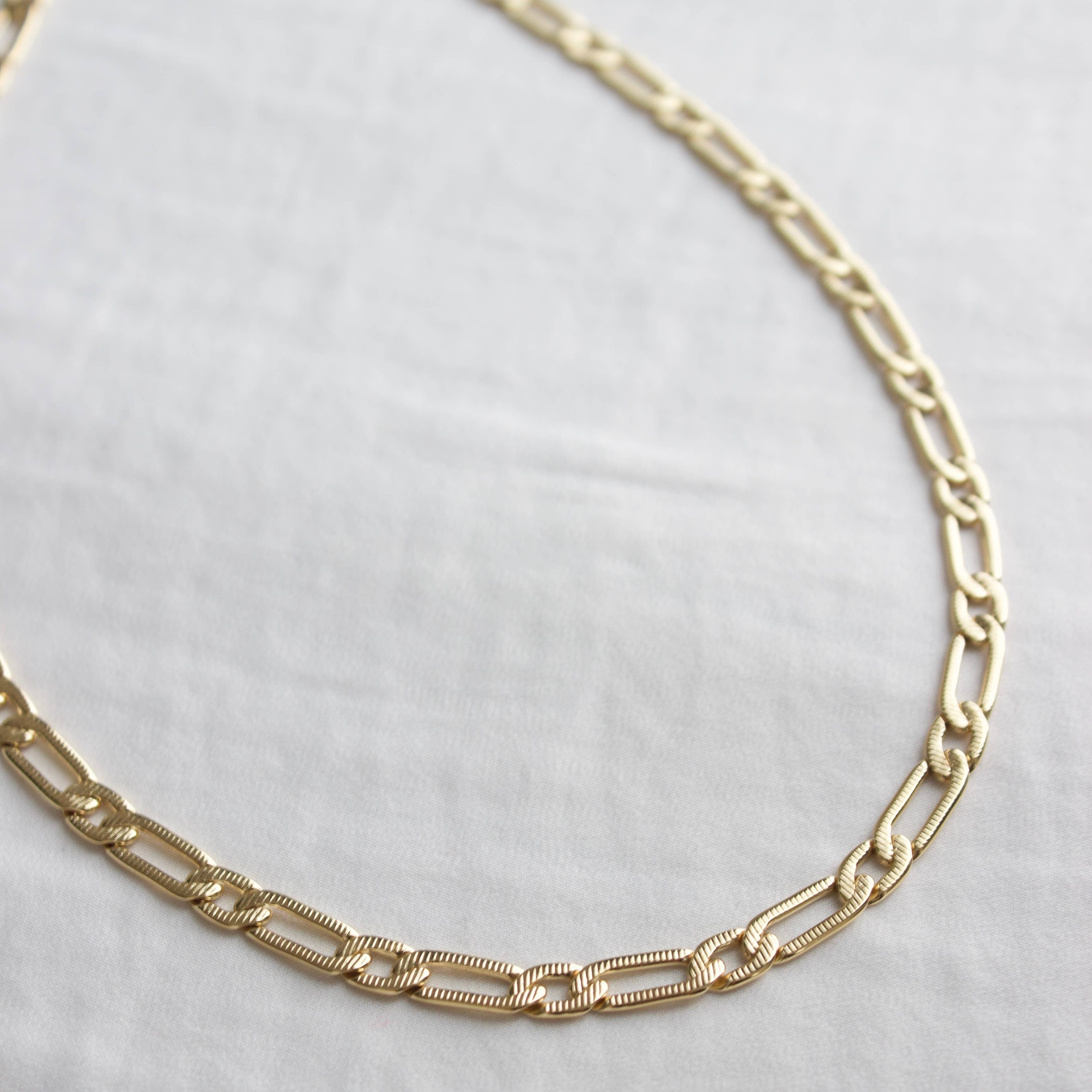 24kt Gold Plate Cleopatra Chain Layer