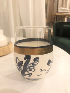 Ginger Wine Glass- Stemless