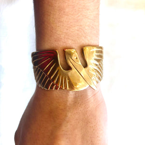 Mimosa Jewelry- Pelican Cuff Large