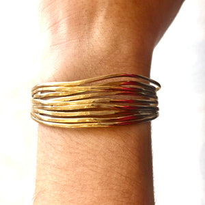 Mimosa Handcrafted Loblolly Pine Needle Cuff