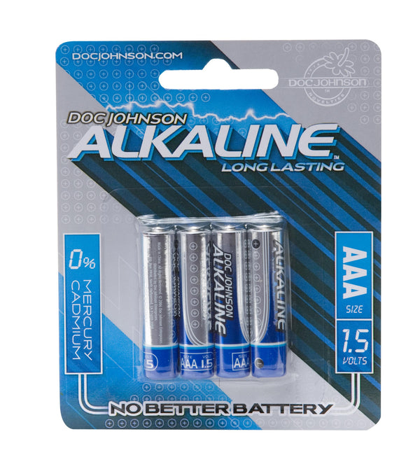 Doc Johnson AAA Batteries 4 Pack Alcaline