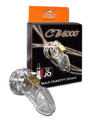 CB-6000 Male Chasity 3 1/4 Inches Cage Device Clear