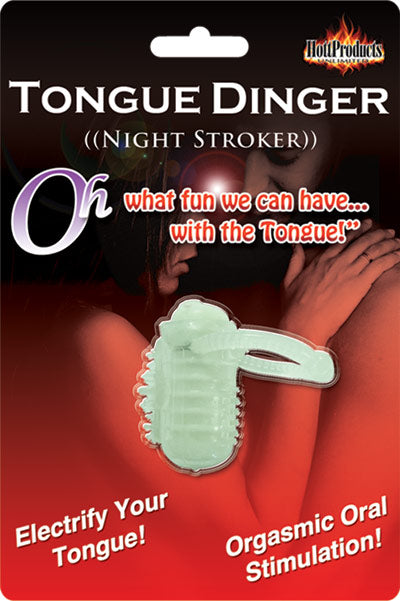 Tongue Dinger Glow-in-the-Dark Night Stroker