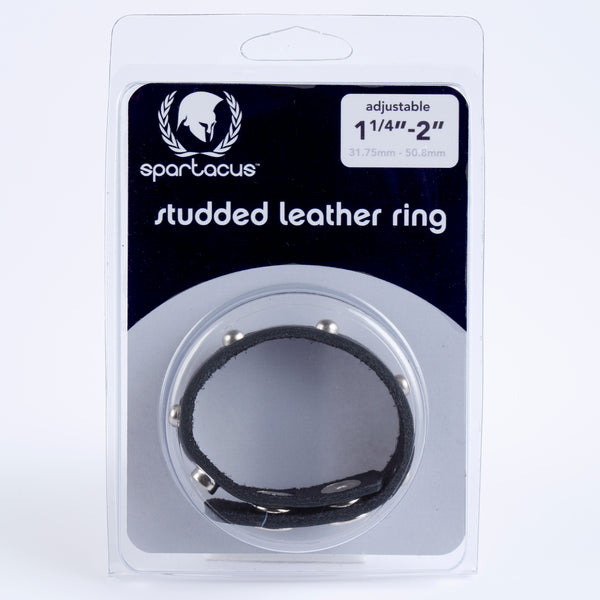Spartacus Leathers Cock Gear Leather Cock Ring