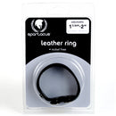 NICKEL FREE LEATHER COCK RING