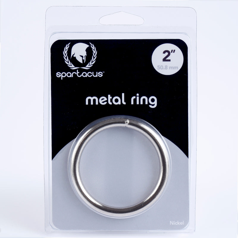 Nickel Metal Cock Ring 2""