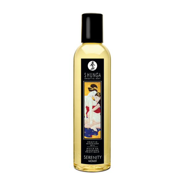 MASSAGE OIL SERENITY MONOI 8OZ