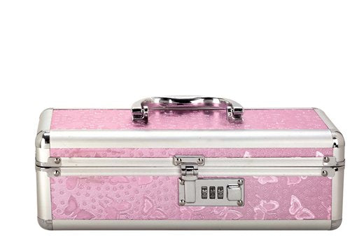 Lockable Vibrator Case Pink Small