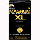 Trojan Brand Magnum XL Condoms 12 Pack