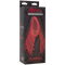 KINK PUMPED PUSSY PUMP RECHARGEABLE VIBRATING BLACK/RED