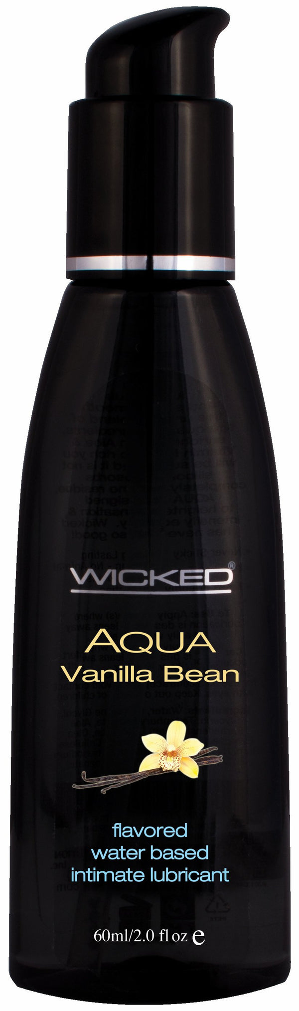 Wicked Aqua Vanilla Bean Intimate Lubricant 2 Oz