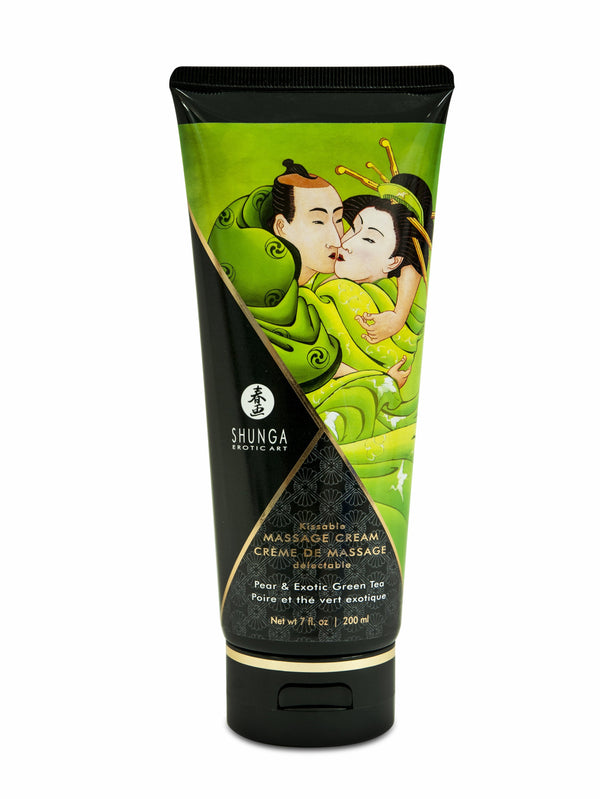 MASSAGE CREAM PEAR & EXOTIC GREEN TEA