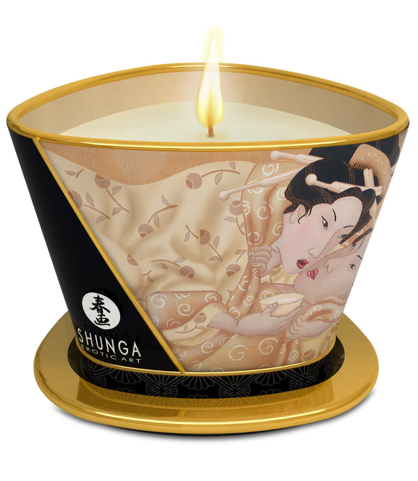 Shunga Erotic Art Massage Candle Caress Desire Vanilla