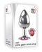 Adam and Eve Pink Gem Anal Plug Large from Evolved Novelties