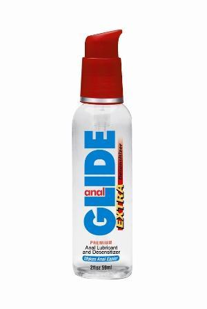 Anal Glide Extra Desensitizer Lubricant 2 Oz Pump
