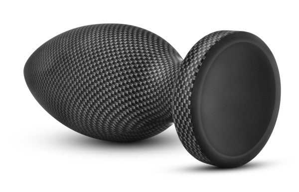 Spark Silicone Plug Carbon Fiber Large. 6.5 inches