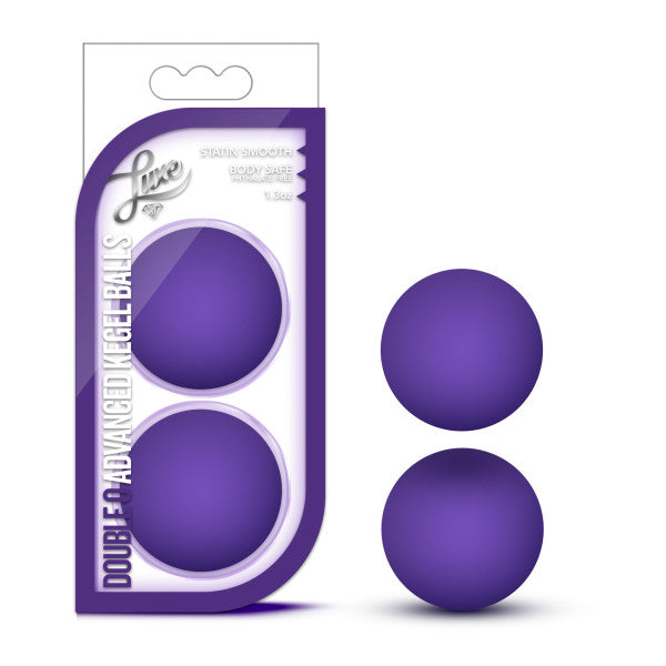 Luxe Double O Advanced Kegel Balls Purple