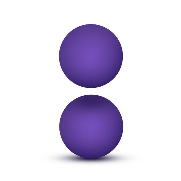 LUXE DOUBLE O KEGEL BALLS 0.8 OZ PURPLE