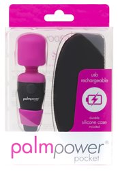 Palm Power Pocket Massager Fuchsia Pink