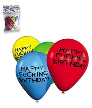 X-RATED BIRTHDAY BALLOONS