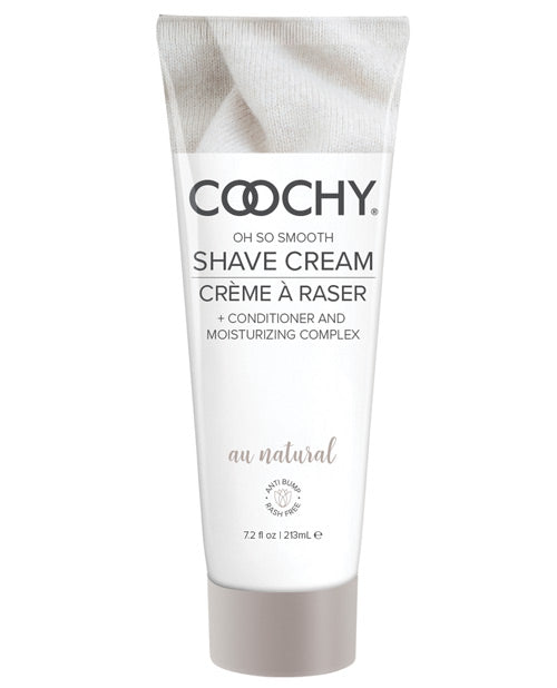 COOCHY SHAVE CREAM AU NATURAL 7.2 OZ