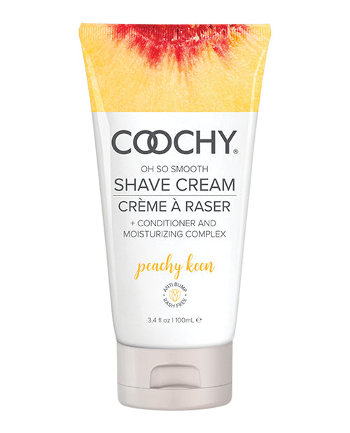 Coochy Shave Cream Peachy Keen 3.4 Oz