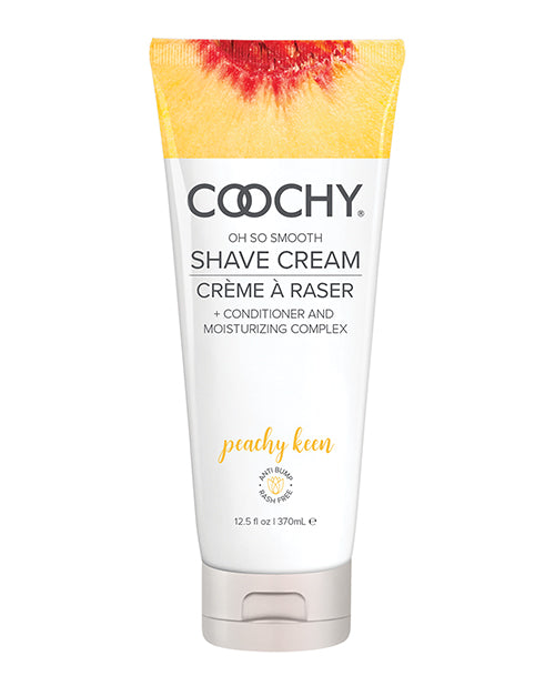 Coochy Shave Cream Peachy Keen 12.5 Oz